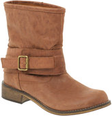 ASOS GOOSE Leather Buckle Mid-Calf Boot
