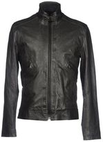 Bikkembergs Leather outerwear