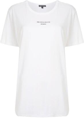 Ann Demeulemeester oversized logo T-shirt