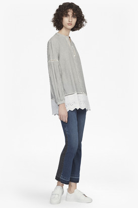 French Connection Clea Blouson Sleeve Top