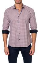 Jared Lang Colorblock Semi-Fitted Shirt