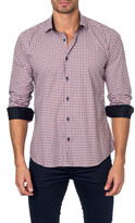 Jared Lang Long Sleeve Colorblock Semi-Fitted Shirt