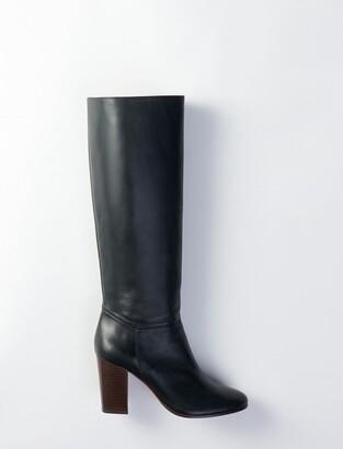 Maje Heeled smooth leather boots