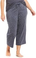 Sleep Sense Plus Star-Print Cropped Sleep Pants