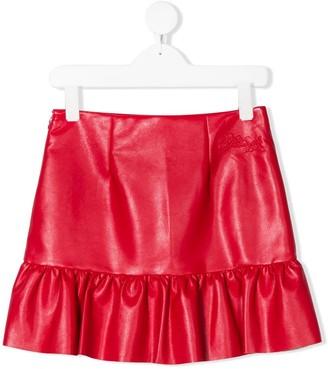 Philosophy Di Lorenzo Serafini Kids Ruffle Short Skirt