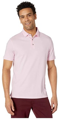 Calvin Klein The Liquid Touch Polo (Cerulean Heather) Men's Clothing