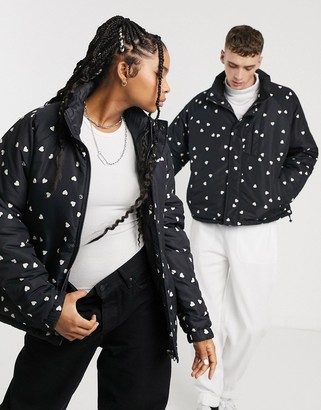 Opening Ceremony unisex reversible quilted jacket-Black