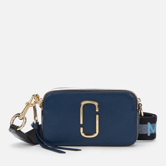 Marc Jacobs Women's Snapshot MJ Cross Body Bag - New Blue Sea Multi