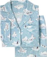 Cath Kidston Polar Bear Brushed Flannel Long PJ Set