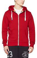 Superdry Men's Orange Label Ziphood Sports Hoodie