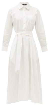 Max Mara Jums Shirt Dress - Womens - White