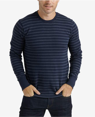 Lucky Brand Men Striped Thermal Crew