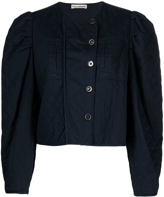 Ulla Johnson Quilted Cropped Jacket
