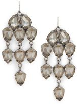 Saks Fifth Avenue Crystal Drop Earrings