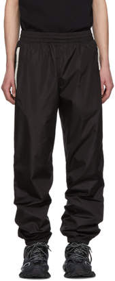 Moncler 2 1952 Black Nylon Casual Track Pants