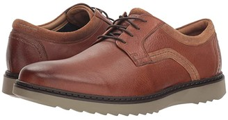 Clarks Un Geo Lace (Dark Tan Leather) Men's Lace up casual Shoes