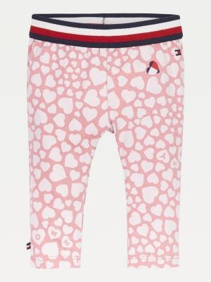 Tommy Hilfiger Organic Cotton Jersey Stripe Leggings