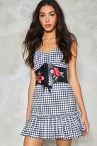 Nasty Gal nastygal Run For the Roses Embroidered Corset Belt