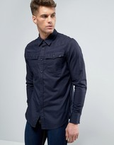 G Star G-Star 3301 Slim Fit Shirt Long Sleeve
