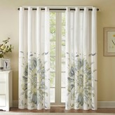 Nobrand No Brand Mya Floral Watercolor Curtain Panel