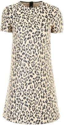 Valentino Leopard Mini Dress