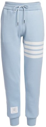 Thom Browne Double Face Cashmere Engineered 4 Bar Stripe Sweatpants