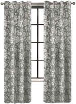 Asstd National Brand Colordrift Penelope Faux Silk Grommet-Top Curtain Panel