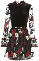 Ganni Simmons Embroidered Dress