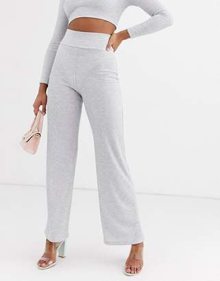 Lasula lounge trouser co ord in grey