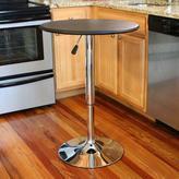 AmeriHome Adjustable Height Bar Table
