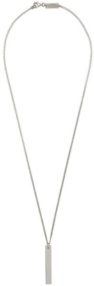 Maison Margiela Silver Polished Palladio Necklace