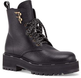 Fendi FFreedom Leather Hiker Booties