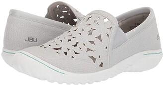 JBU Wildflower Moc (Dove Grey) Women's Shoes