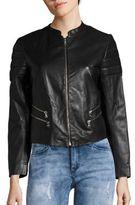 Sandro Valeke Leather Jacket