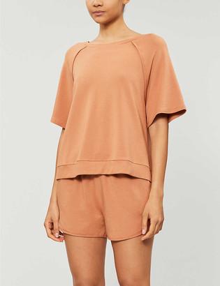 Eberjey Blair cotton-blend jersey pyjama bottoms