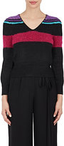 Marc Jacobs Women's Striped Merino Wool Sweater