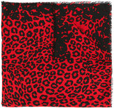 Marc Jacobs leopard print scarf