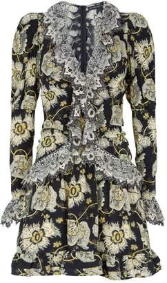 Etro Floral Ruffle Dress