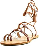 Madden-Girl Saz Women US 5 Brown Gladiator Sandal