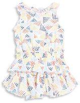 Splendid Little Girls Dot-Print Dress