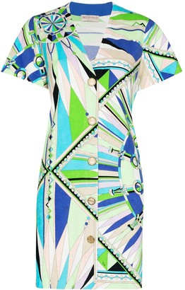 Emilio Pucci Bes print mini dress