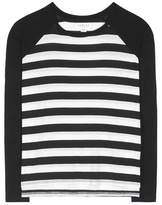Velvet Belmont striped raglan T-shirt