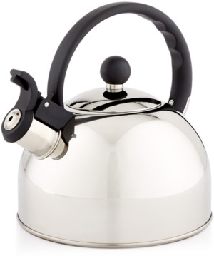 Martha Stewart Collection Martha Stewart Essentials 1.5-Qt. Stainless Steel Tea Kettle, Created for Macy's