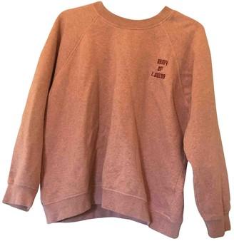Ganni Pink Cotton Knitwear for Women