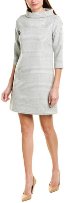 Sail to Sable Wool-Blend Shift Dress