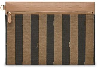 Fendi Medium Striped Pouch