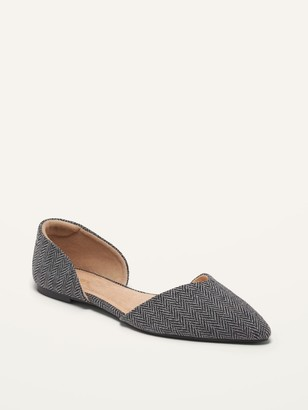 Old Navy Tweed D'Orsay Flats for Women