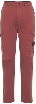 Stone Island Stretch Cotton Cargo Pants