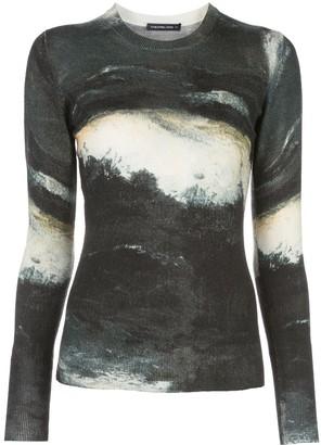Samantha Sung Womens Black Knit pullover