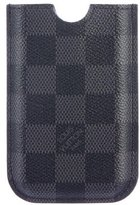 Louis Vuitton Damier Graphite iPhone 3G Phone Holder